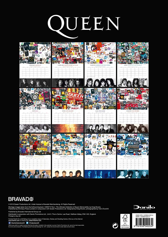 kalendarz Queen